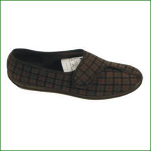 37f400679d1 Gents Paul Slipper - Brown Size 8  Amazon.co.uk  Health   Personal Care