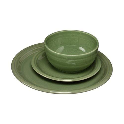Fiesta 340-1482 3 Piece Bistro Set, Sage (Green Dishes Sage)