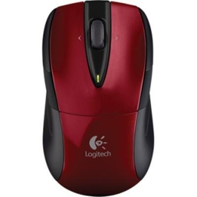 M525 Wrls Nb Mouse Red