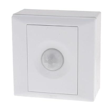 Interruptor de la luz del sensor de movimiento IR eDealMax