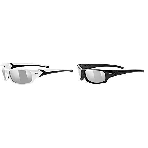 uvex Unisex – Erwachsene, sportstyle 211 Sportbrille