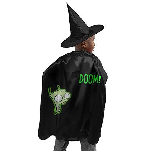 REYUTEEG Green Zim-Doom Song Halloween Witch Set
