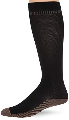 Price comparison product image Travelon Med. Copper Infused Compression Socks,  Black