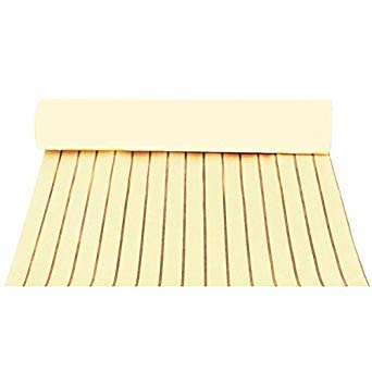 Bloomerang Self Adhesive Eva Foam Teak Sheet Boat Yacht Synthetic Decking 900X2300X6Mm YEL