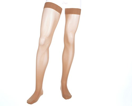 (mediven Assure, 20-30 mmHg, Thigh High Compression Stockings, Closed Toe Compression Stockings )