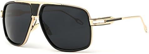 AEVOGUE Aviator Sunglasses For Men Goggle Alloy Frame Brand Designer AE0336