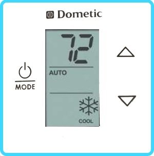 DOMETIC 3316230000 CTRL KIT, CT STD-C/F-WHT