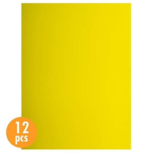 (CTG, EVA sheet, 9 x 12 inches, Yellow, 12 Pieces )