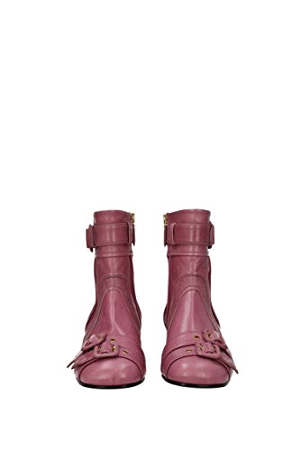 Rosa EU Mujer Prada Botines Piel 1T129I wO4PBqC