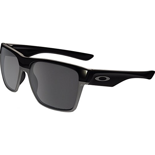 Oakley Men's Twoface Xl Polarized Iridium Square Sunglasses, Polished Black, 59.02 - Oakley Xl Sunglasses