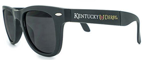 Officially Licensed Game Day/Race Day Kentucky Derby Folding Sunglasses with Microfiber Pouch (Kentucky Oaks Derby)