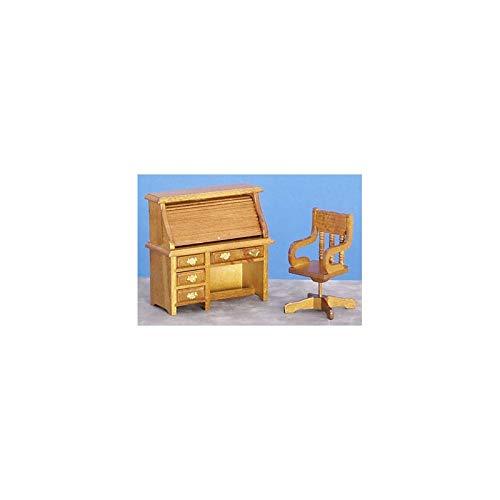 Furniture Imports Walnut Chair - Aztec Imports, Inc. Dollhouse Miniature Rolltop Desk/chair Walnut