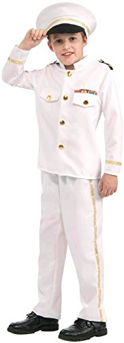 Forum Novelties Navy Admiral Costume, Large (Abc 13 Days Of Halloween)