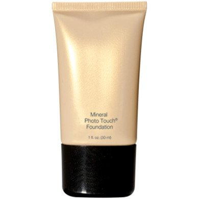 Beauty Basics Mineral Photo Touch Foundation, New Liquid Makeup Base Foundation (Natural Beige)