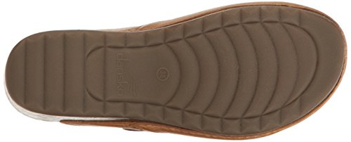 Dansko Women's Martina Mary Jane Flat, Honey Distressed, 40 EU/9.5-10 M US by Dansko (Image #3)