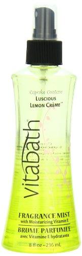 Vitabath Fragrance Mist, Lusicous Lemon Crème, 8 Ounce