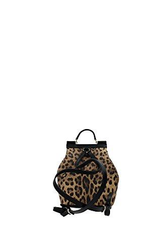 Dolce&Gabbana - Bolso mochila  para mujer beige beige Beige