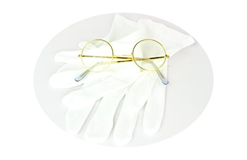 Rubie's Costume CO Santa Gloves and Glasses Accessory Set]()
