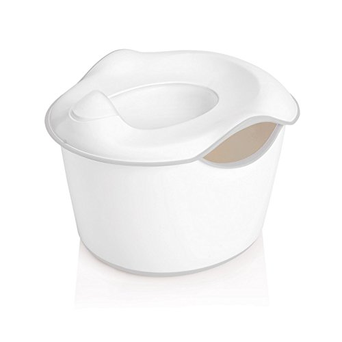 Pearhead Ubbi 3-in-1 Potty or Toilet Trainer and Step Sto...