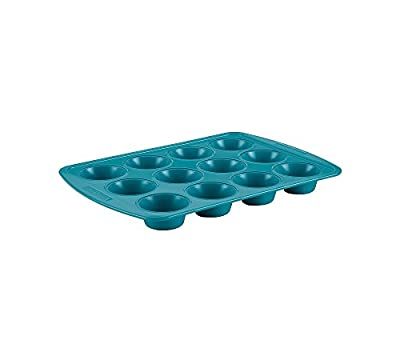 SilverStone Hybrid Ceramic Nonstick Bakeware Steel Cupcake & Muffin Pan