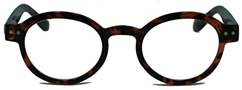 In Style Eyes® Waldo Reading Glasses. Cool Reading Glasses that Look Great and Feel Comfortable/tortoise/1.50 Strength