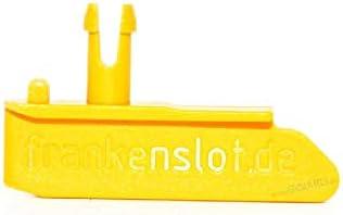 GOKarli Leitkiel Leitkeil Frankenslot V3.0 für Carrera Digital 132 Digital 124 Exclusiv Evolution Orange (1 Stück)