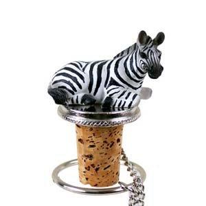 Conversation Concepts Zebra Bottle Stopper