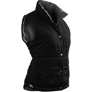 Sun Mountain 2017 Women's Alpine Vest (Black-Steel, Medium)