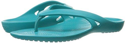 Crocs Women Flip Kadee II Turquoise Blue Flops rWZrSnU7
