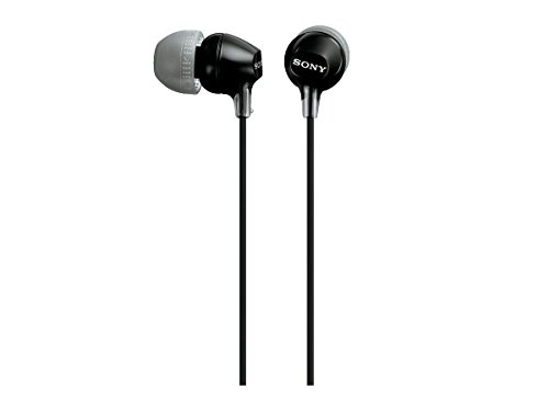 Sony MDREX15LP Fashion Color EX Series Earbuds (Black)