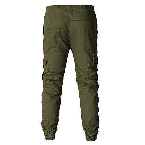 Militare Celucke Jeans Uomo Slim Verde dOIHnrqOw