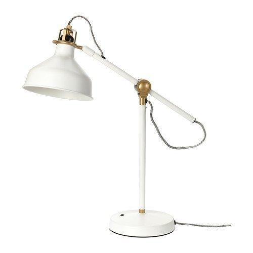 Ikea Ranarp Work Lamp, Off-white