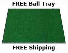5' x 5' Dura-Pro Plus Deluxe Residential Golf Hitting Mats Make All Other Golf Mats Obsolete, Free Golf Ball Tray & Tees. Family Owned Since 1997, As Seen on The Golf Channel. by DuraPRO