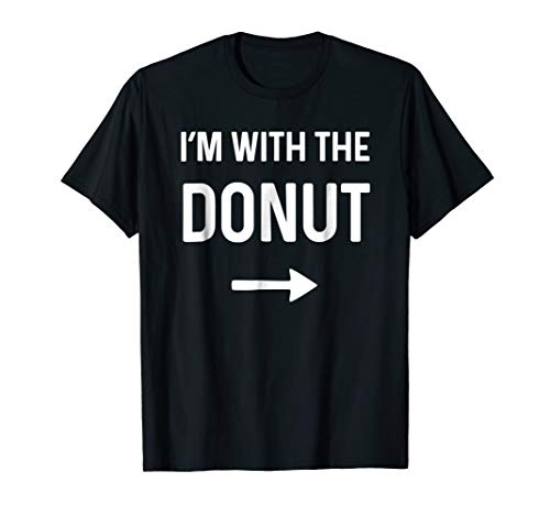 With the Donut Shirt Funny Halloween -
