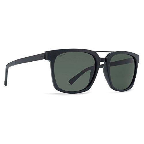 Viper Full Face (VonZipper Unisex Plimpton Polar Black Gloss Satin/Wild Vintage Grey Polar Sunglasses)