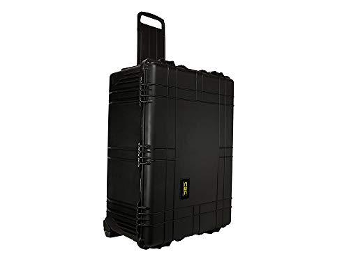 Common Sense Cases 5008 Equipment Hard Case With DIY Foam - Weather Resistant - Black - Internal Dimensions: 29