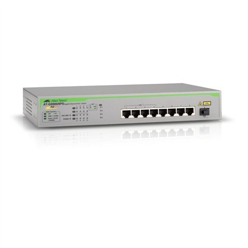 Allied Telesyn 8-Port Unmanaged Switch (AT-GS900/8PS-10)