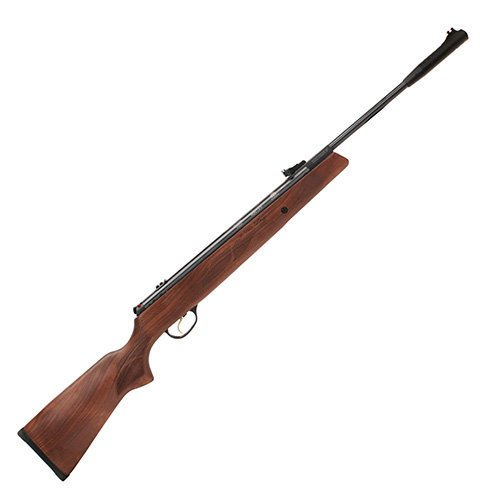 Hatsan Model 95 Combo .22 Rifle, Walnut Stock (22 Air Rifle Rings)
