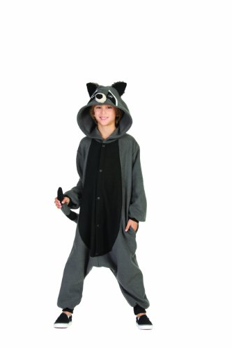RG Costumes 'Funsies' Rocky Raccoon, Child Large/Size 12-14 -