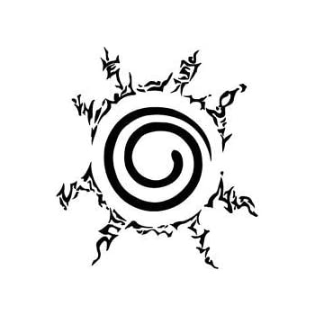 amazon com naruto seal of naruto anbu anime tokio vinyl decal