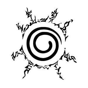 Naruto Sticker Symbol Window Laptop product image