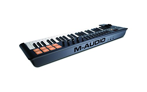 M-Audio Oxygen 49 MKIV | 49-Key USB MIDI Keyboard & Drum Pad Controller (8 Pads / 8 Knobs / 9 Faders), VIP Software Download Included - Image 2
