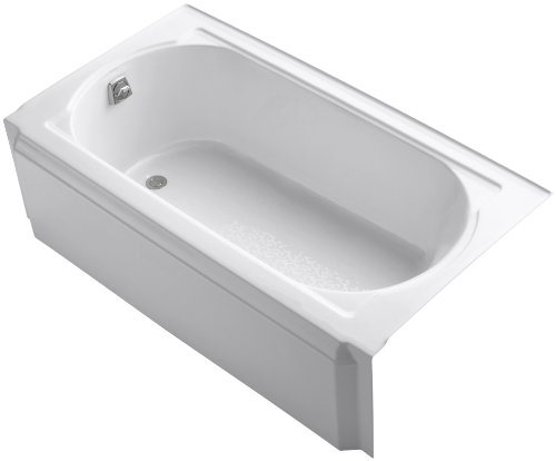 KOHLER K-721-0 Memoirs 5-Foot Bath, White ()