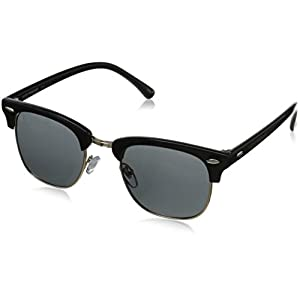 Lucky Unisex-Adult D901bla50 Cateye Sunglasses, BLACK, 50 mm