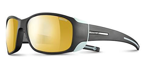 Julbo Monterosa Mountain Sunglasses - Zebra - Anthracite/Blue Mint