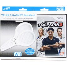 Top Spin 3 Tennis Racket Bundle for Nintendo Wii (Controller NOT INCLUDED)