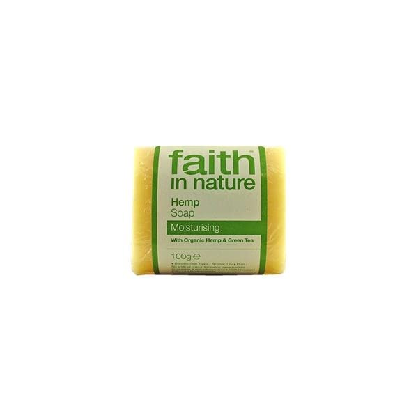 Hemp w Lemongrass Pure Vegetable Soap by Faith in Nature