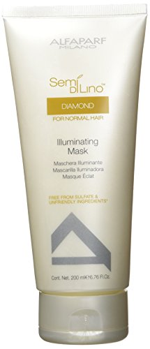 Alfaparf Semi Di Lino Diamond Illuminating Mask, 6.76 oz
