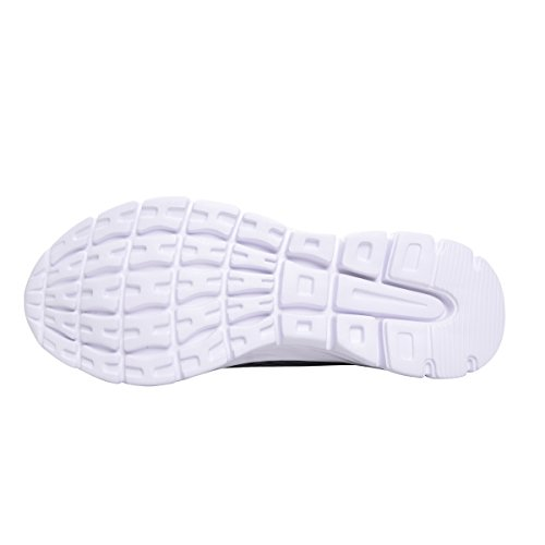 Leichte Breathable Sneakers der Männer für das Gehen durch liebe Zeit Dunkelgrau