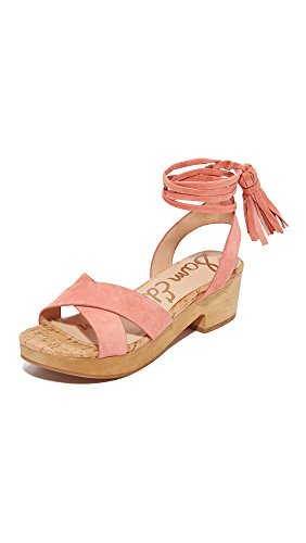Women's Jenna Sam Sandal Heeled Blossom Peach Edelman p55Fqxw6P